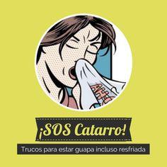 Trucos para verte bien (en lo posible) con un resfriado: http://www.quieretebien.com/actualidad/%1Bsexo-mentiras-y-bares-de-copas/%C2%A1socorro-catarro #catarro #resfriado #trucosbelleza