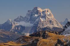 Monte Pelmo aus Passo Pordoi