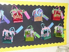 What a great idea for a birthday bulletin board