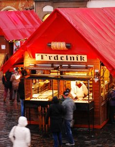 Offbeat Prague: Top 10 Things To Do In Prague: We suggest skipping the waffles and picking a barely-pronounceable Trdelník from the vendors in the Old Town Square and Wenceslas Square. The Trdelník is a traditional pastry made from freshly-grilled dough covered with sugar and ground walnuts. Yum!