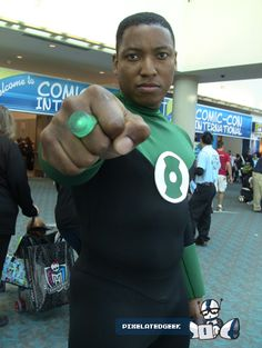 Green Lantern John Stewart Halloween Character Ideas, Halloween Ideas, Halloween Costumes, Green Lanterns, Green Lantern Corps, Dc Cosplay, Cosplay Costumes, Black Cosplayers, John Stewart