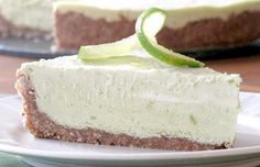 "Raw Key Lime Pie: WOW!!! You have GOT to try this anyone who likes keylime pie. It tasted wonderful and tart! You can not tell you used avacado either. The crust is simple and amazing too. This pie took me 15 minutes to make. I added whipped coconut cream on top which is also here on my ""I did that"" board! Perfect topping for a perfect pie!"