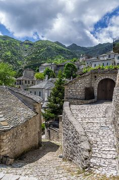 Syrrako Village, Epirus Greece