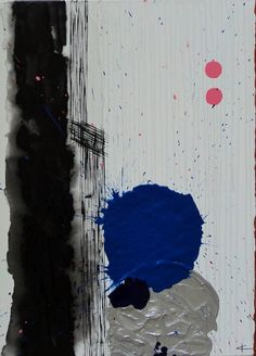 Mixte, acrylique sur toile, 70x50cm