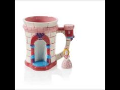 Castle Mug with Tiny Topper Princess - YouTube