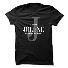 Team JOLENE Lifetime member - #tshirt serigraphy #sweatshirt for women. ACT QUICKLY => https://www.sunfrog.com/Names/Team-JOLENE-Lifetime-member.html?68278