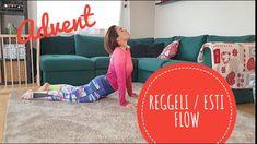 #advent #pilatmas #nyújtás #flow Reggeli / esti FLOW  gyakorlatsor Pilates, Advent, Flow, Couch, Furniture, Home Decor, Pop Pilates, Settee, Decoration Home
