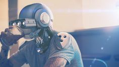 In the future hipsters will have mechanical heads because organic heads are