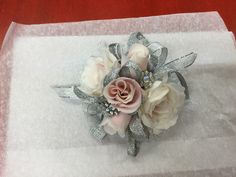 Prom corsage 2017 by Silk Florals LLC