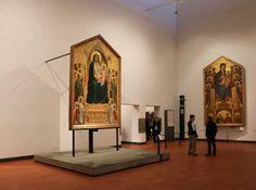 Galleria degli Uffizi:Giotto ed il Duecento nella Sala 2 Byzantine Icons, Byzantine Art, Duccio Di Buoninsegna, Hayward Gallery, Italian Paintings, Holy Mary, The Masterpiece, Italian Artist, Medieval Art