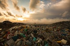 With permission from the country's government, Teal and her crew documented the Maldives' Trash Island, also known as Thilafushi. Only a few miles away from the Maldivian capital of Malé, Thilafushi is an artificial island and acts as one of the country's main landfills. About 300 to 400 tons of trash are dumped on the island every day.