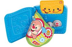 Fisher Price - Laugh & Learn Learning Wallet (In Greek) (Y4277)  Manufacturer: Mattel Barcode: 746775213879 Enarxis Code: 015556 #toys #Mattel #Fisher_Price #wallet