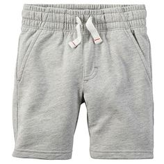 Carters Baby Boys French Terry Shorts Baby 3 Months Grey -- More info could be found at the image url.Note:It is affiliate link to Amazon.