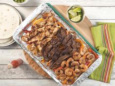 Get Sheet Pan Party Fajitas Recipe from Food Network
