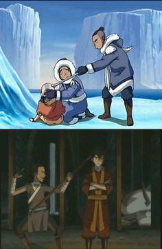 Avatar The Last Airbender Funny, The Last Avatar, Avatar Airbender, Korra Avatar, Team Avatar, Avatar Aang Movie, Avatar Cartoon, Avatar Funny, Atla Memes