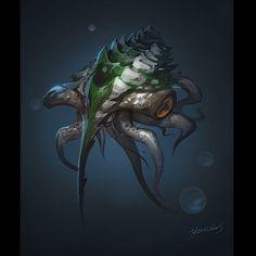 deepsea animal by YanmoZhang on deviantART