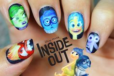 Inside Out nailistas #nail #nails #nailart