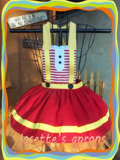 Lalaloopsy Fire apron inspried by Josettesaprons on Etsy Red Skirts, Cute Skirts, Childrens Aprons, Halloween Pumpkins, Halloween Ideas, Kids Apron, Lalaloopsy, Inspiration For Kids, Red And White Stripes
