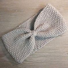 Headband tricoté à la main