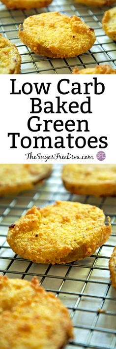 This recipe for baked, not fried, green tomatoes is the perfect vegetable recipe for dinner or even for lunch. It is easy to make and tastes really good too!!