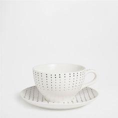 GEOMETRIC MOTIF BREAKFAST SET - Dinnerware - Tableware | Zara Home United States