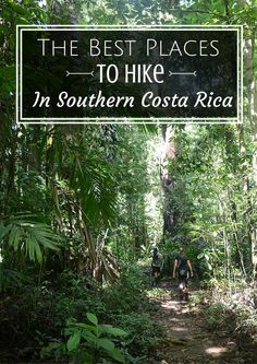 The Best Places To Hike In Southern Costa Rica