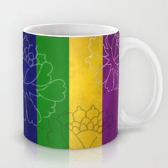 Chinese Flowers - Purple Yellow Green Blue Mug #chinese #japanese #asian #oriental #flower #floral #beautiful #color #colour #colourful #colorful #stripes #peonies #design #decor #homedecor #minimal #art #artsy #artistic #wallart #artprint #pod #frame #bathroom #bedroom #kitchen #beddings #mug #fabric #ceramic #fashion #tee #leggings #accessories #cover #case #phonecase #phone #iphone #tablet #ipad #blue #purple #yellow #green #decorideas #gift #giftideas #giftforher #giftforhim #bag…