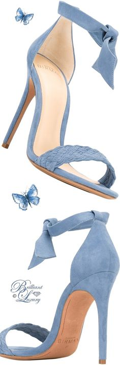 Brilliant Luxury by Emmy DE ♦ Alexandre Birman Ankle Length Sandals