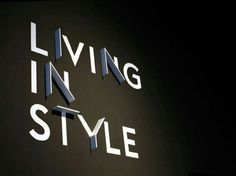 Living in style
