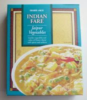 What's Good at Trader Joe's?: Trader Joe's Indian Fare Jaipur Vegetables