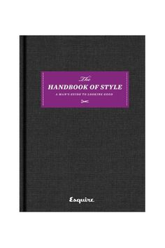 handbook of style by Esquire