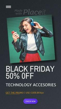 Black Friday Video, Black Friday Ads, Best Black Friday, Best Video Maker, Walmart Black Friday Deals, Cyber Monday Ads, Social Media Branding, Story Video, Design Templates