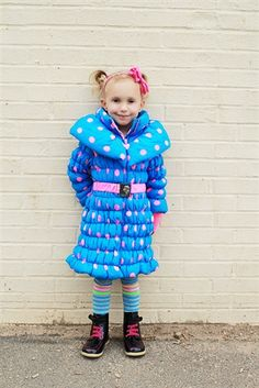 wanna be ahead of the game? Grab your kid's outerwear before it gets too chilly outside! Here is a great coat from My Little Jules