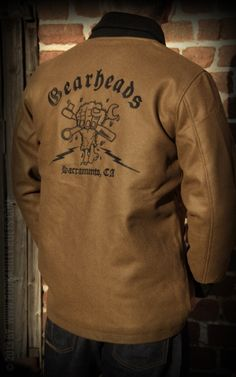 Ol' School hand embroidered Car Club Jackets… Cool! | Join ...