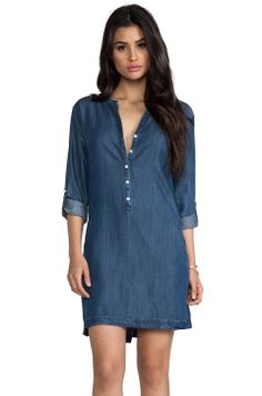 Soft Joie Eguine Dress in Medium Indigo from REVOLVEclothing