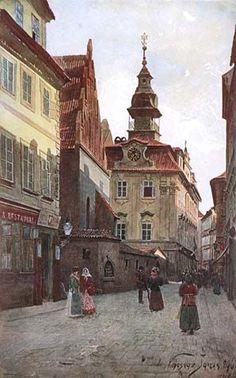 Le quartier juif - Josefov - Prague Minos Guide