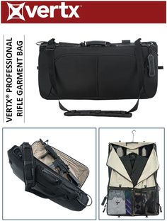 a0001f0a2c6f THE VERTX® PROFESSIONAL RIFLE GARMENT BAG IS A LOW PROFILE