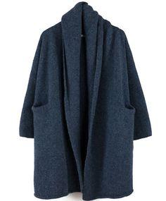 Denim Capote Coat