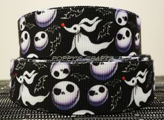 Nightmare Before Christmas Grosgrain ribbon Jack by DGBootique ...