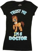 My Little Pony Trust Me I'm a Doctor Baby Doll Tee by Stylin Online - Teenormous.com