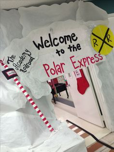 Polar express day nichole pennington this is cute. I remember you said you were having a polar express bday theme for the kidos. Polar Express Party, Polar Express Christmas Party, Ward Christmas Party, Office Christmas, Disney Christmas, Kids Christmas, Christmas Crafts, Preschool Christmas, Christmas Activities