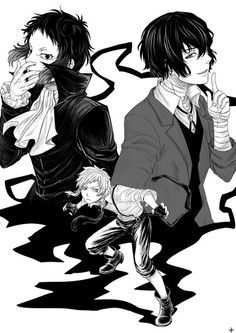 Bungou stray dogs MY NEW BABE!!! glad I'm watching this anime, usually if i see the genre is supernatural, I'm not gonna watch it because sometimes its weird, only some of them great, but this!!! THIS IS AWESOME AND DIFFERENT!!