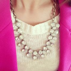 Jewelry - NEW Double Crystal Brûlée Necklace