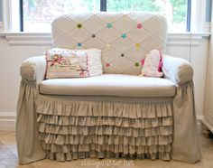 Cottage of the Week: Classy Clutter 2 tours in 1 - The Cottage Market My New Room, My Room, Girl Room, Chair Redo, Ikea Chair, Dream Bedroom, Girls Bedroom, Bedrooms, Furniture Makeover