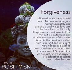 Forgive and you will be free and light. Forgive Yourself firstly, and then free yourself from the past. To forgive us to love, to forgive… Spiritual Enlightenment, Spiritual Wisdom, Spiritual Awakening, Spiritual Healer, Awakening Quotes, Law Of Attraction Tips, Meaning Of Life, Spiritual Inspiration, Positive Inspiration
