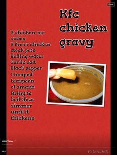 Syn free KFC gravy