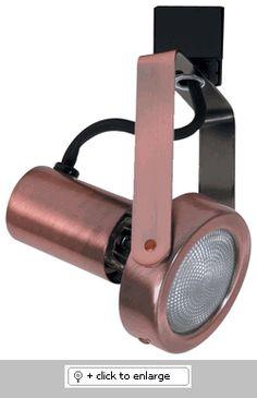 ET629 Line Voltage Track Light-PAR20  Item# ET629  Regular price: $32.38  Sale price: $19.26