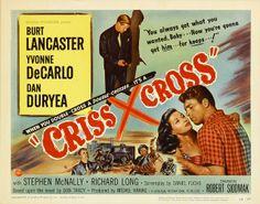 Old Lobby Cards   Film Noir Movie Posters: BURT LANCASTER