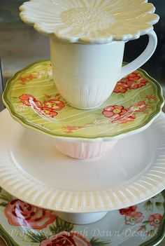 This would be sweet in all white vintage dishes, or Christmas dishes or rummage sale treasures!