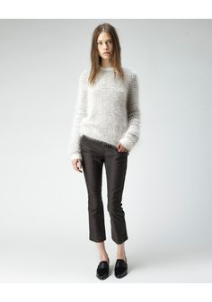 3.1 Phillip Lim / Bubble Stitch Pullover | La Garconne
